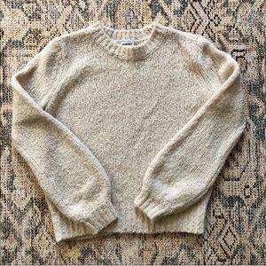 Aritzia - Sunday Best | Fuzzy Crewneck Sweater
